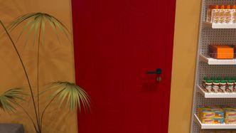 Gas Station WC Door